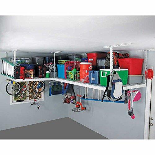 Rack Package W Accessory Hooks 24, Overhead Garage Storage Rack Accessories
