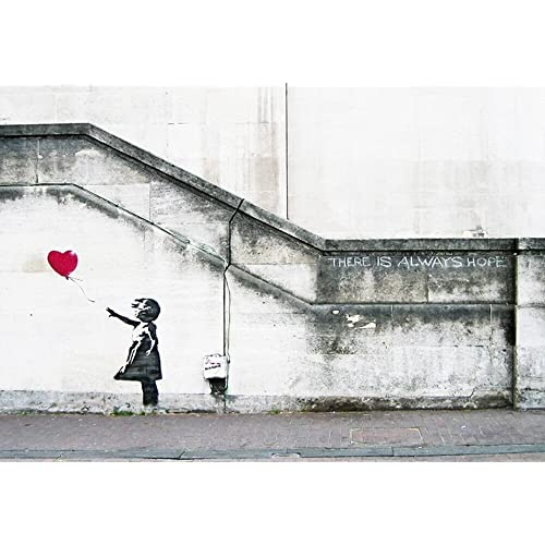 Modern Canvas Banksy Wall Decor