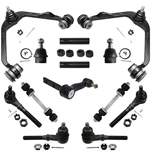 10pc Front Upper Control Arm Tierod Kit Ford Expedition 1997-1999 F-150 4WD