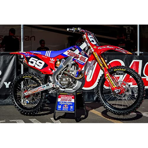 SXF 125-450 Lucas Oil Enjoy MFG Graphics Kit is a Compatible Fit for the 2013-2015 KTM SX