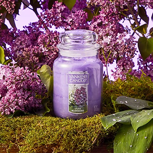 Buy Yankee Candle Large Jar Candle Lilac Blossoms Online In Kazakhstan B000wqy7ro